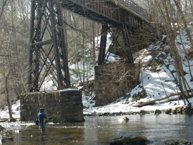 Ken lockwood gorge fishing dojo for Nj fly fishing