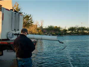 Stocking Rainbows at Red Mountain Lake - see video page for more