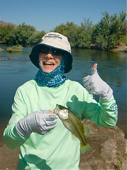 Asu research center lake fishing dojo for Fish pond surgery center