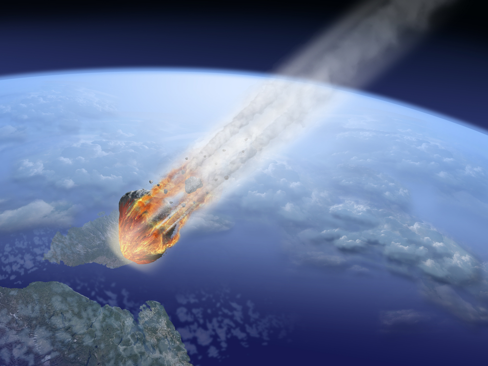 if it where it would fly by earth asteroid hit hit - photo #28