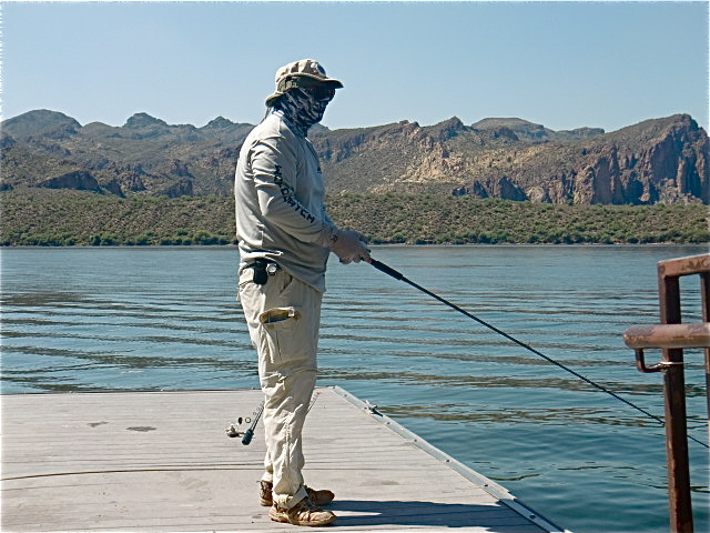 Lower salt river fishing dojo for Saguaro lake fishing