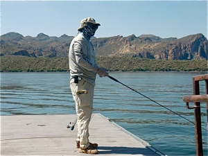 Fishing dojo a unique fishing experience with sensei john for Saguaro lake fishing report